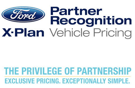 Ford – Partner Recognition X–Plan Vehicle Pricing